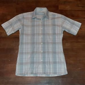 Christian Dior mens small button down shirt